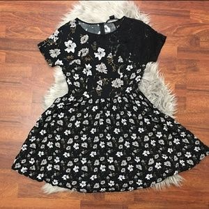 French Connection floral skater dress